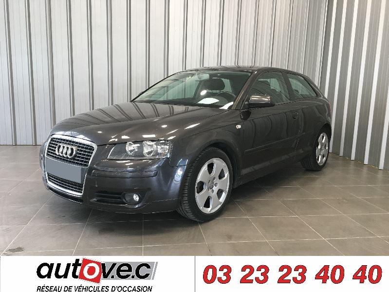 Audi a3 2 0 tdi 140ch ambition 3p d occasion clacy et for Garage clacy et thierret voiture occasion