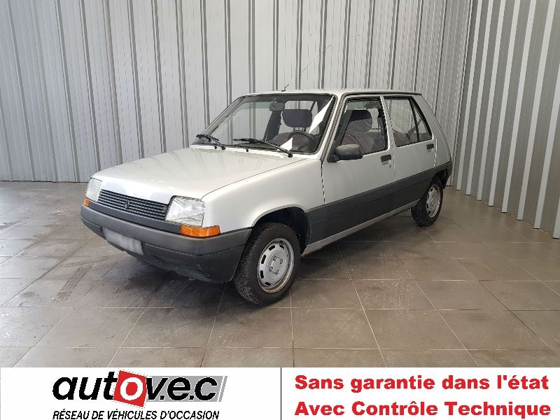 Renault SUPER 5 TC Essence GRIS Occasion à vendre