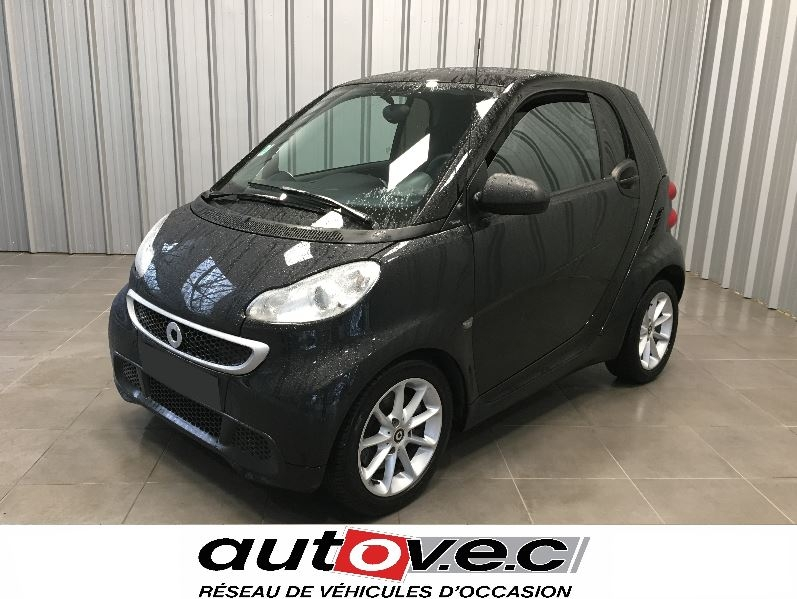 Smart FORTWO COUPE 71CH MHD PASSION SOFTOUCH Essence NOIR Occasion à vendre