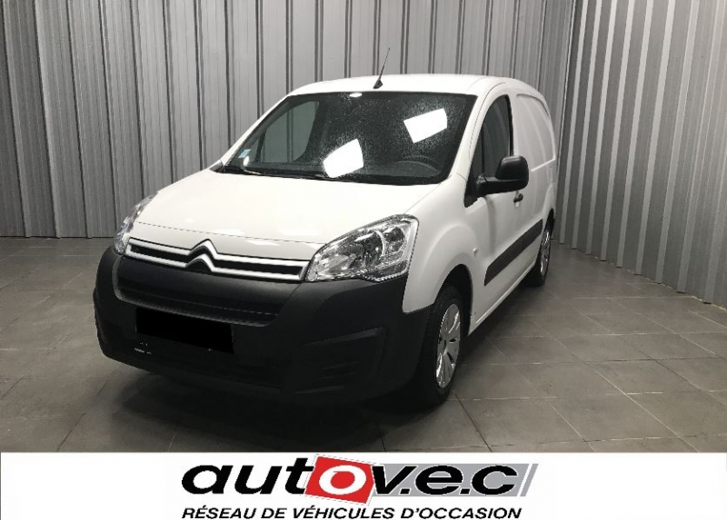 Citroen BERLINGO 20 L1 1.6 BLUEHDI 100 S&S BUSINESS Diesel BLANC Occasion à vendre