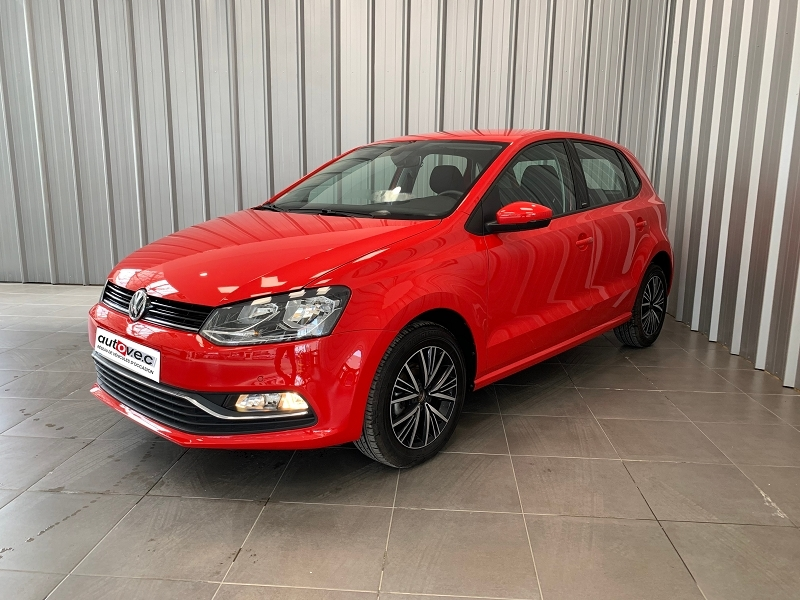 Volkswagen POLO 1.2 TSI 90CH BLUEMOTION TECHNOLOGY MATCH 5P Essence ROUGE  Occasion à vendre