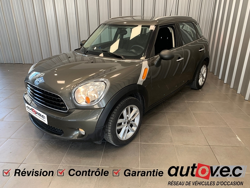 Mini COUNTRYMAN ONE D 90CH Diesel GRIS F Occasion à vendre
