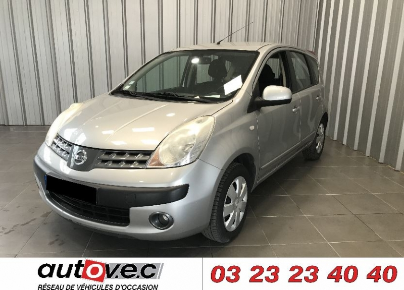 Nissan NOTE 1.4 88CH MIX Essence GRIS Occasion à vendre