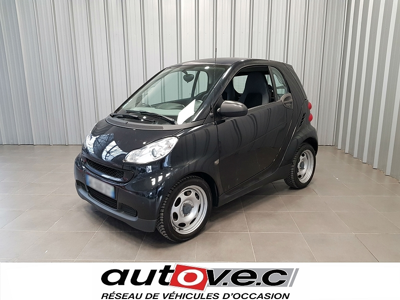 Smart FORTWO COUPE 61CH MHD PURE Essence NOIR Occasion à vendre