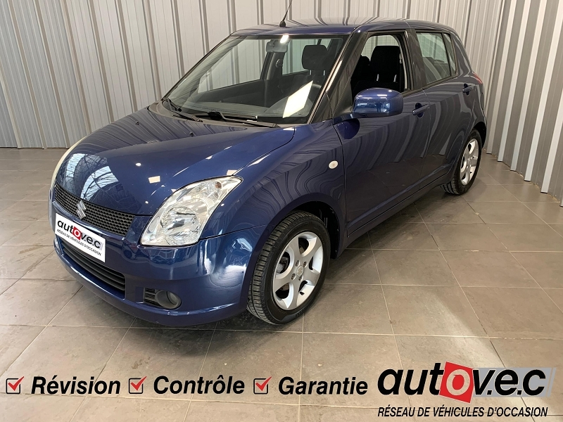 Suzuki SWIFT 1.3 VVT GLX BMR 5P / SWIFT II / PH1 Essence BLEU Occasion à vendre