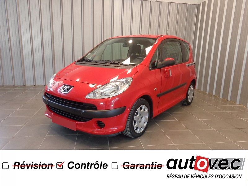 Peugeot 1007 1.4 HDI TRENDY Diesel ROUGE Occasion à vendre
