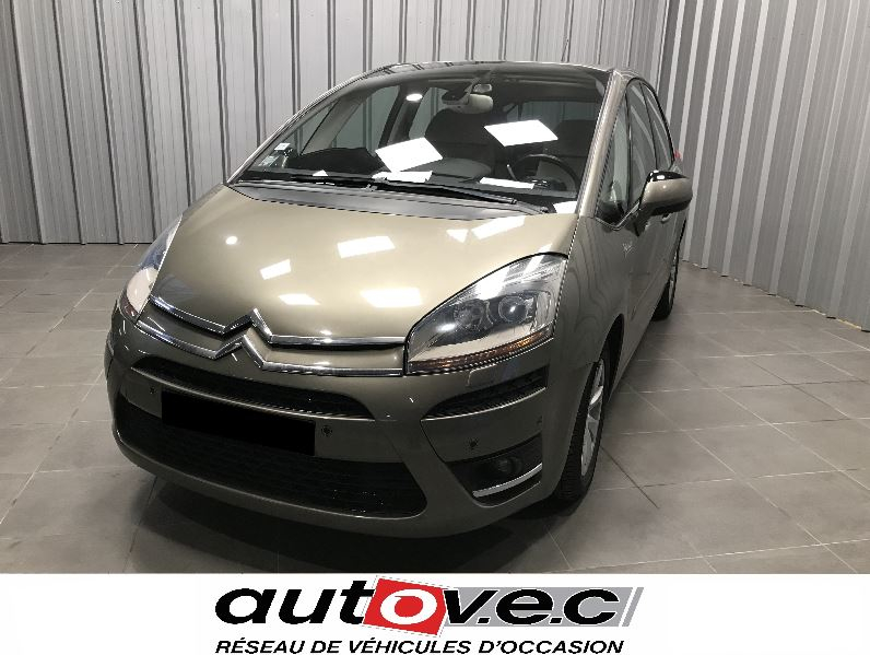 Citroen C4 PICASSO 2.0I 16V EXCLUSIVE BMP6 Essence MARRON Occasion à vendre