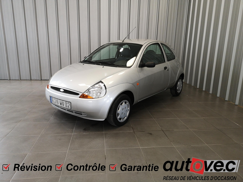 Ford KA 1.3 60CH OBSESSION 3P Essence GRIS C Occasion à vendre
