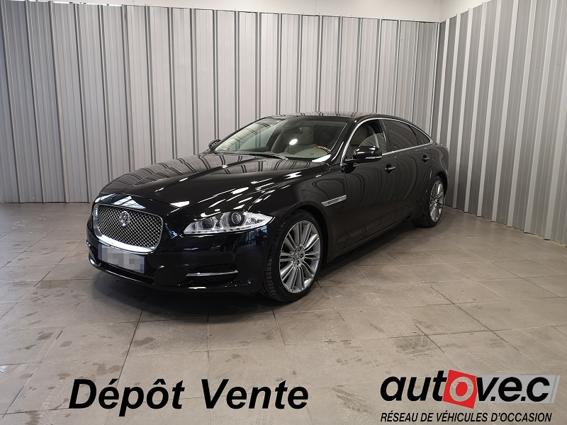 Jaguar XJ 5.0 V8 PORTFOLIO LONG Essence NOIR Occasion à vendre