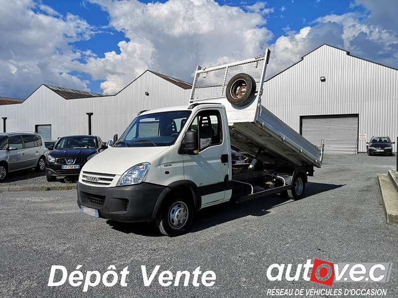 Iveco DAILY CCB 35C10 EMP 3.45M Diesel BLANC Occasion à vendre
