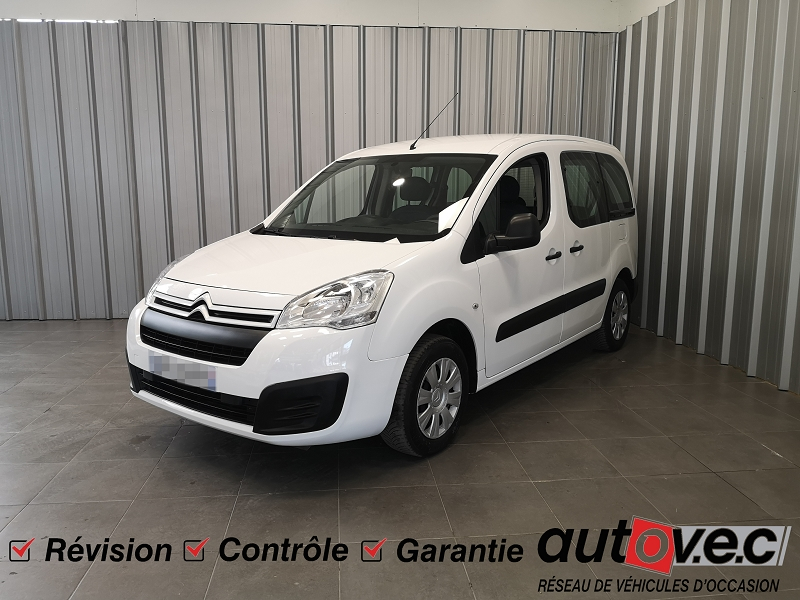 Citroen BERLINGO BLUEHDI 75CH FEEL Diesel BLANC Occasion à vendre