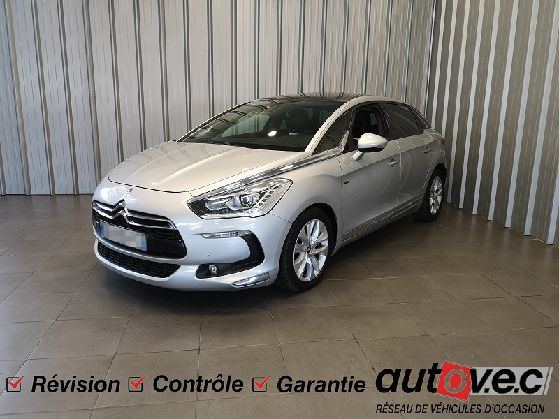 Citroen DS5 HYBRID4 AIRDREAM SO CHIC BMP6 Hybride GRIS Occasion à vendre