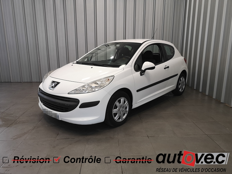 Peugeot 207 AFFAIRE 1.4 HDI 70 FAP AFFAIRE PACK CD CLIM CONFORT Diesel BLANC Occasion à vendre